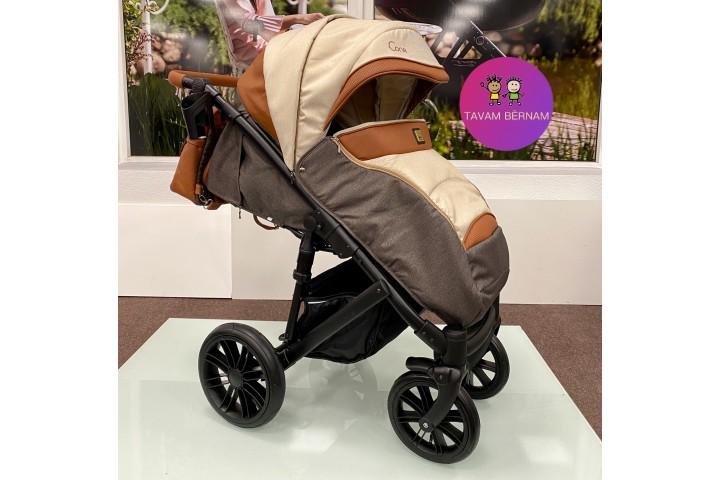 Camarelo Cone Co-5 (brūna) bērnu pastaigu rati
