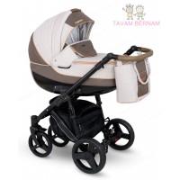 Camarelo Neso 3-1 Ne-6 (brūna / bēša) rati jaundzimušajiem