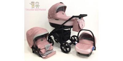 Camarelo Baleo 3-1 Ba-pink (gaiši roza) bernu rati