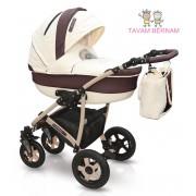 Camarelo Carmela 3-1 (bēša) bērnu universālie ratiņi