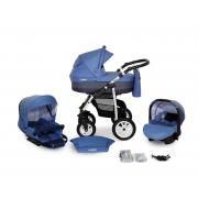 Verdi Laser bērnu universālie ratiņi 3in1 col.13 (dark blue)