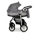 Verdi Laser bērnu universālie ratiņi 3in1 col.11 (grey/grey)