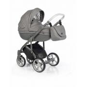 Roan Bass Soft bērnu universālie ratiņi 2in1 Basic collection col.Anthracite Grey