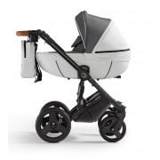 Verdi Orion universālie bērnu ratiņi 3in1 col.Eco White/Denim grey