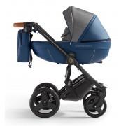 Verdi Orion universālie bērnu ratiņi 3in1 col.Eco Blue/Denim grey