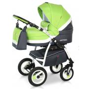 Verdi Optima bērnu universālie ratiņi 3in1 col.03 (green)