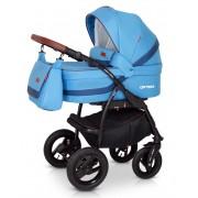 Verdi Optima bērnu universālie ratiņi 3in1 col.B5 (Blue)