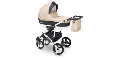 Camarelo Carera new bērnu universālie ratiņi 3in1 col.CAN-4 (denim beige)
