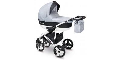 Camarelo Carera new bērnu universālie ratiņi 3in1 col.CAN-2 (denim grey)