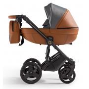 Verdi Orion universālie bērnu ratiņi 3in1 col.Eco Caramel/Denim grey