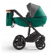 Verdi Orion universālie bērnu ratiņi 3in1 col.Eco Green/Denim grey