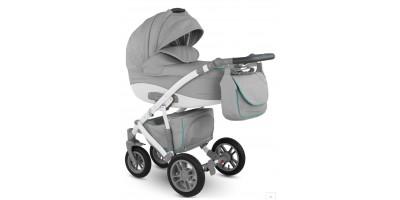 Camarelo Sirion Eco bērnu universālie ratiņi 3in1 col.SiE-4 (Eco Grey)