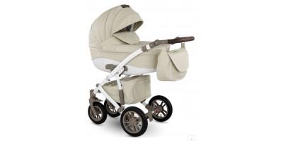 Camarelo Sirion Eco bērnu universālie ratiņi 2in1 col.SiE-1 (Eco Beige)