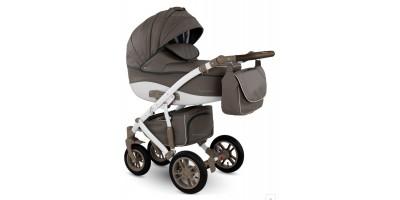 Camarelo Sirion Eco bērnu universālie ratiņi 3in1 col.SiE-2 (Eco Brown)