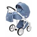 Adamex Luciano bērnu universālie ratiņi 3in1 col.Blue