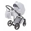 Adamex Luciano bērnu universālie ratiņi 3in1 col.Light Grey