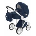 Adamex Luciano bērnu universālie ratiņi 3in1 col.Dark Blue