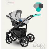 Camarelo Baleo bērnu universālie rati 3in1 Ba-3 (pelēka zila)