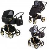 Adamex Reggio Special edition bērnu universālie ratiņi 3in1 col.Y-300 red (melna)